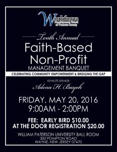 Faith Based and Non-Profit Community Conference